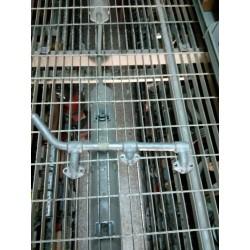 Tubo acqua posteriore al basamento Errevi 711392 x Iveco