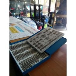 Serie maschi e filiere in acciaio al tungsteno Fervi M 218