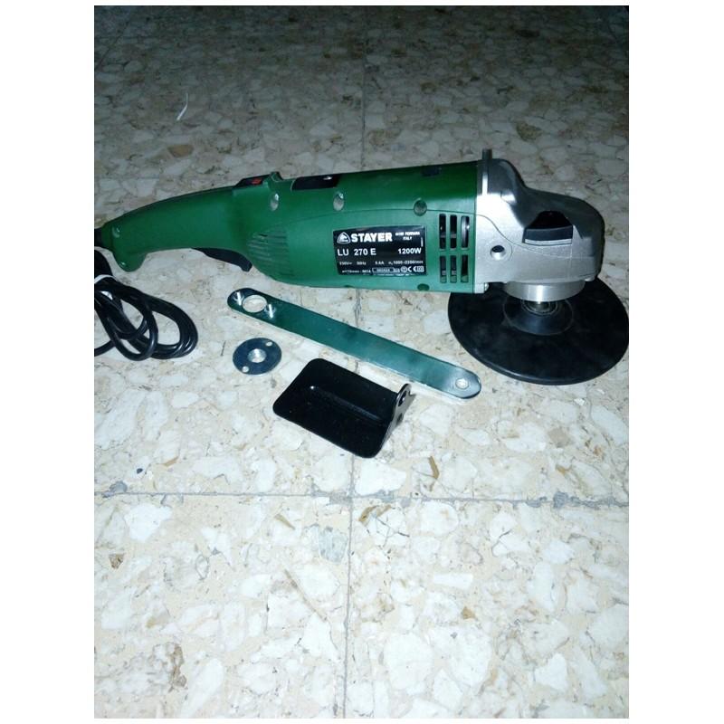 Lucidatrice Stayer LU 270 E, Potenza 1200 W, giri 1000/2250 min