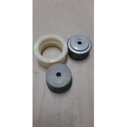 Giunto dentato Pirelli D48C costituito da 2 mozzi in acciaio