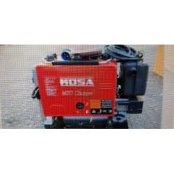 Motosaldatrice MOSA MSG CHOPPER generatore di corrente incorporato